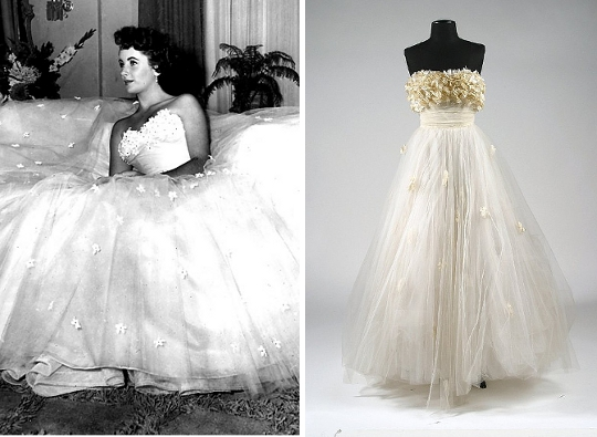a place in the sun 1950s dress
