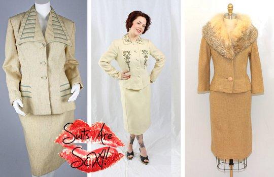 stylish 50s suits