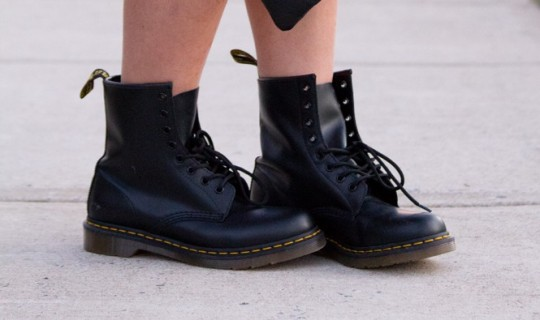 grunge combat boots