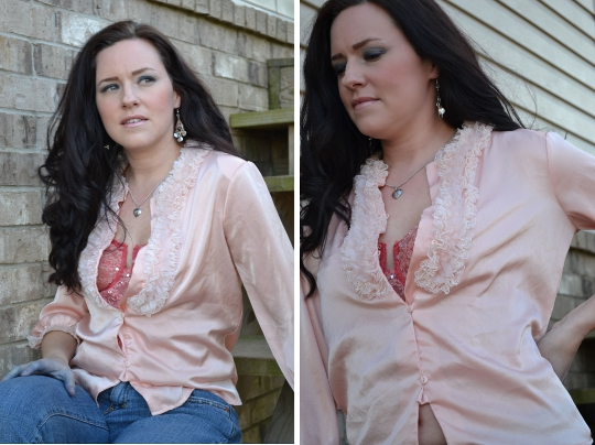 1980s bed jacket styled casual
