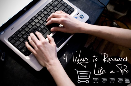 4 ways to research like a thrift pro