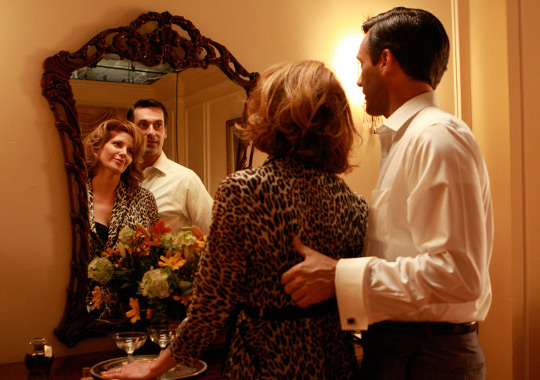 mad men photo showing leopard print