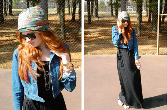 1920s vintage turban styled by fashion blogger wore out