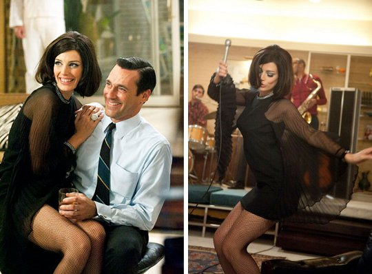 mini dress worn on mad men season 5