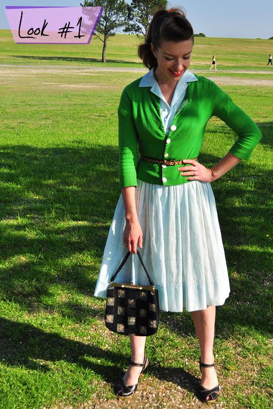 1950s Shirtwaist Dress Worn 4 Ways Not To Look Like A