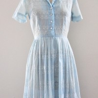 1950s Shirtwaist Dress Worn 4 Ways (Not to Look Like a Housewife!)