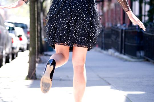 1980s_black_dotted_shear_dress_1