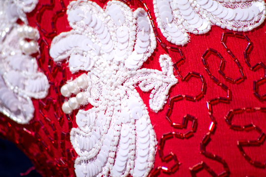 80s_sequins_dress_red_pattern