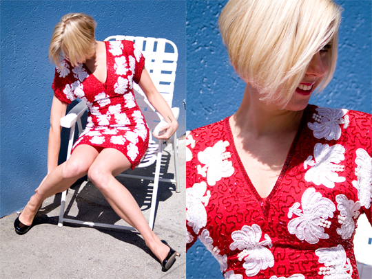 80s_sequins_dress_red_chair