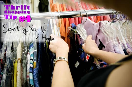 Thrift Clothes Rack