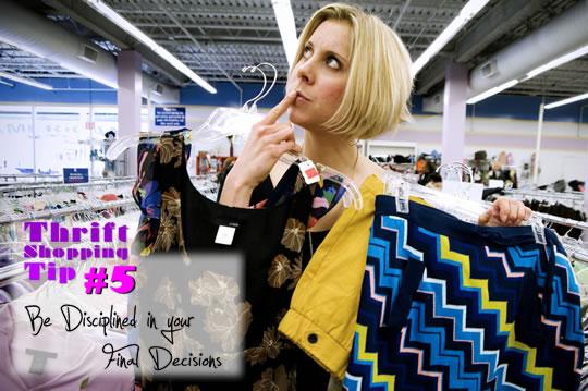 Thrift clothes ponder