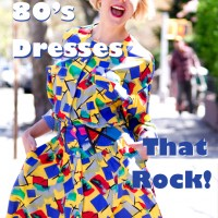The Trendiest 1980s Dresses I Love