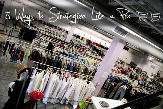 Thrift Shoping Goodwill Store
