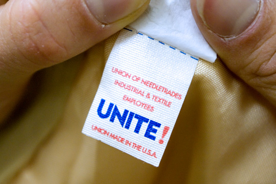 vintage clothing union tag