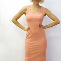 90s-body-con-dress-peach