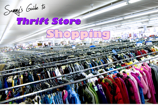 how to thrift store shop main