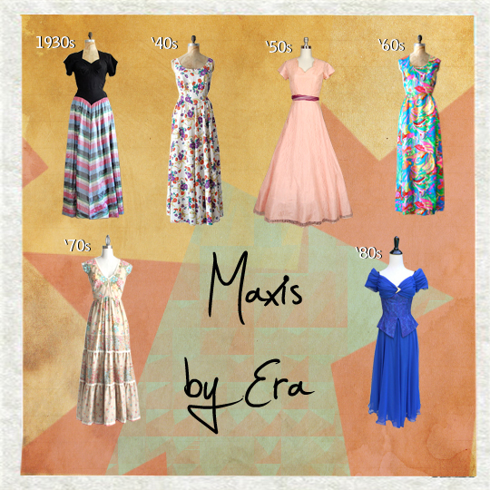 Vintage-Maxi-dresses-by-era