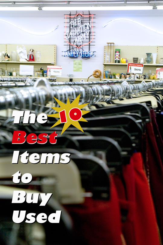 what to buy at a thrift store