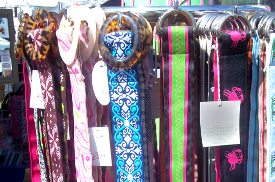 thrift store shopping belts