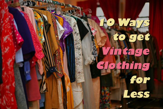 Vintage Clothes Websites
