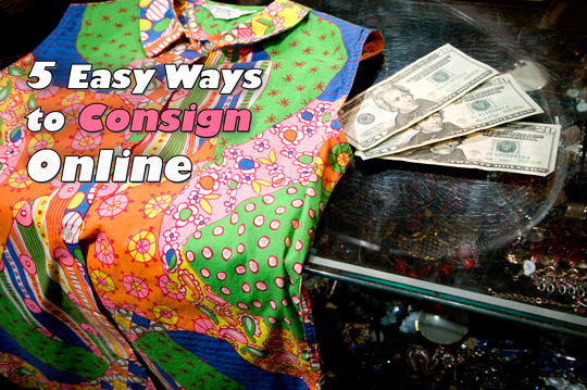 how to consign designer clothing online