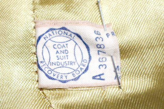 national coat and suit industry recovery board
