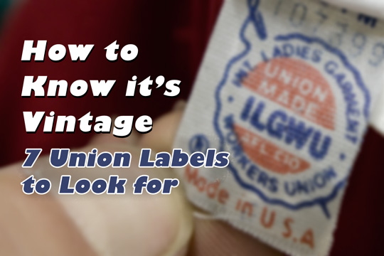 an ilgwu union label