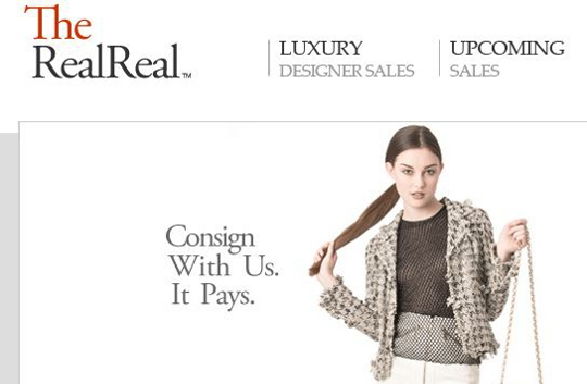the real real is a consignment store online