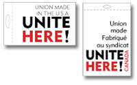 the union label for unite here