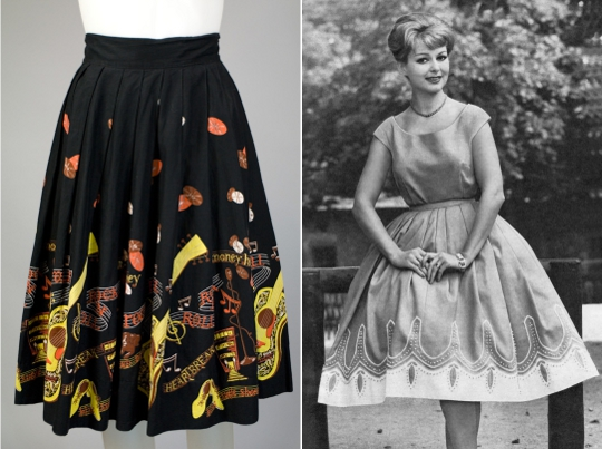 a 1950s circle skirt from hinesite vintage