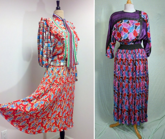 diane freis'80s dresses available to buy on etsy