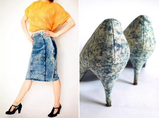 stonewash denim 1980s clothing on etsy