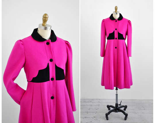 1950s dresscoat available on etsy