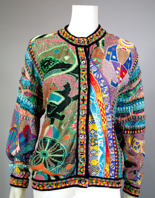 1980s clothing coogi sweater