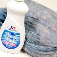 vintage clothing is often handwashed with wool wash