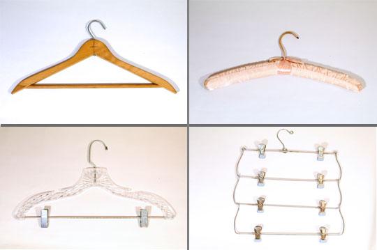 wooden hanger, fabric hanger, plastic hanger and multiple skirt or pants hanger