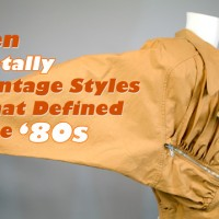 1980s clothing trends