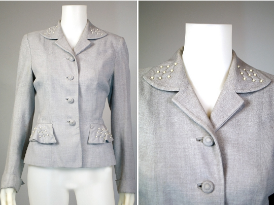 world war two fashion women's blazer