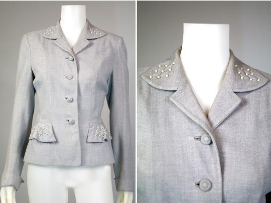 world war two fashion women's blazer