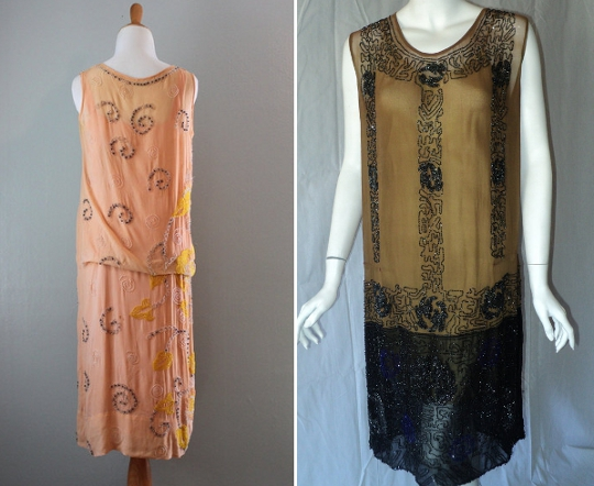 1920s art deco dresses from etsy