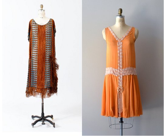 1920s flapper dresses from etsy