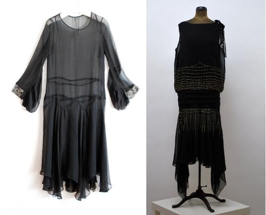 1920s handkerchief hem dresses from etsy