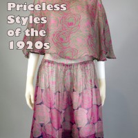 1920s art deco dress clothing trends