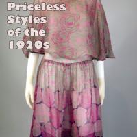 1920s art deco dress clothing trends
