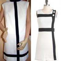 mod fashion dress