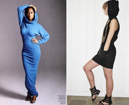 70s hooded dresses