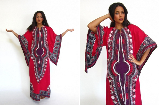 70s dashiki dress