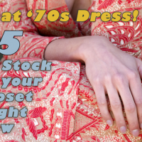 15 Ways You Can Own '70s Dresses