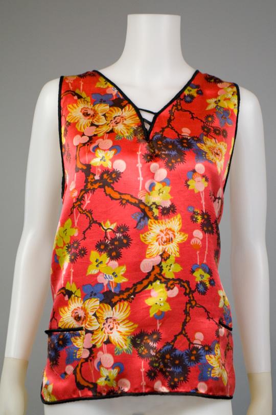 1920s vintage oriental shirt