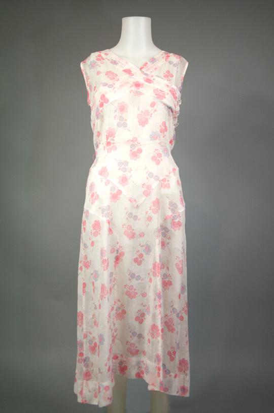 1920s vintage tea dress